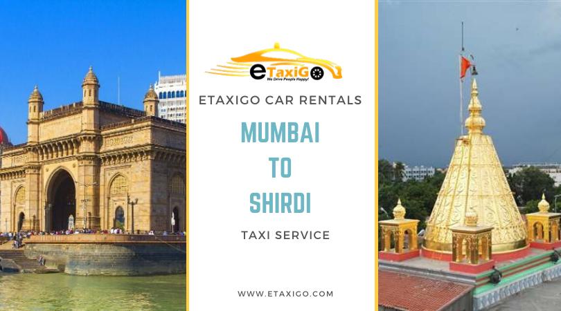 Mumbai To Shirdi Taxi Service