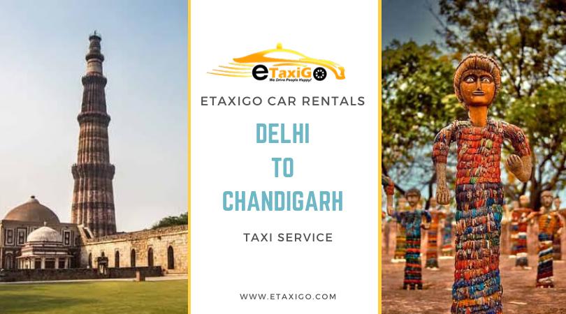 Delhi to Chandigarh Cab